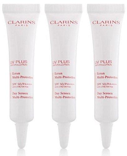 Clarins UV PLUS Anti-Polltion Day Screen Multi-Protection #FAIRNESS 10ML X 3 TUBES