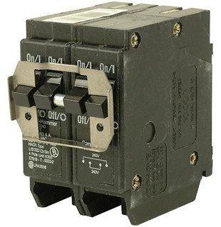 Cutler Hammer BQ215220 BQ Quad Breaker 1-15A/2P 1-20A/2P ...