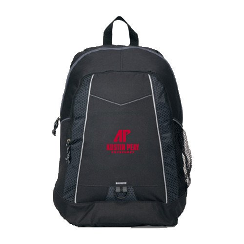 Austin Peay Impulse Black Backpack 'AP Austin Peay Governors - Official Athletic Logo' by CollegeFanGear