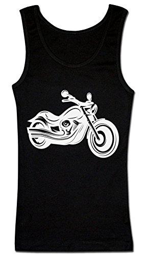 Graphic Awesome Motorbike T-shirt senza maniche da donna