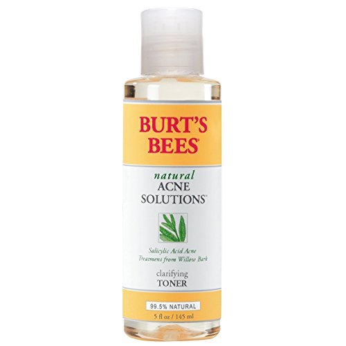 Burt's Bees Natural Acne Solutions Clarifying Toner, Face Toner for Oily Skin, 5 Ounces