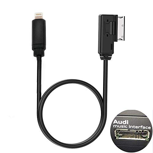 ELONN Compatilbe iPod iPhone AMI Cable Replacement for Audi 4F0051510F 3.5mm Jack AMI Cable by ELONN