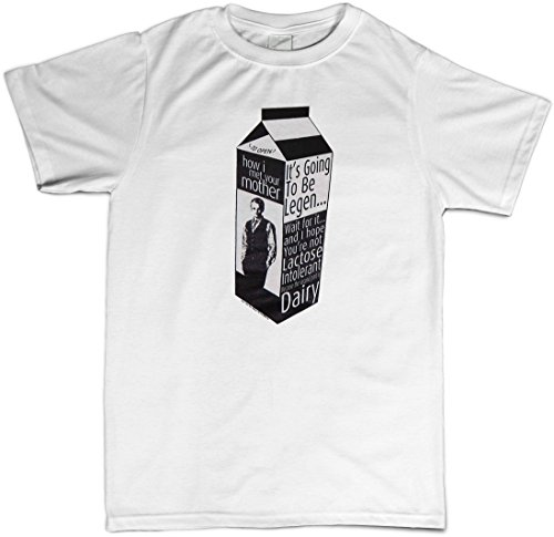 how-i-met-your-mother-legen-dairy-t-shirt-tv-show-short-sleeve-black-large