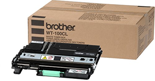 Brother Waste Toner Box - Brother WT-100CL Waste Toner Pack for HL-4040CN, HL-4070CDW Series - Retail Packaging