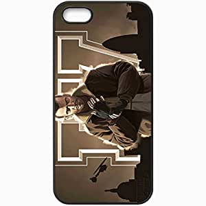 Personalized iPhone 5 5S Cell phone Case/Cover Skin Gta Grand Theft Auto 4 Niko Bellic Helicopter Look Black by lolosakes