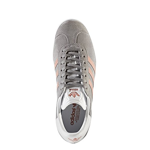 Adidas Originelen Womens Gazelle W Grijs / Raw Pink / White