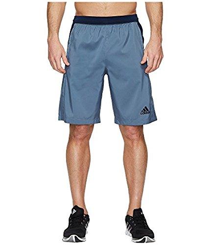 Raw Steel XLarge adidas Men's Training Designed 2 Move 3 Stripe Shorts
