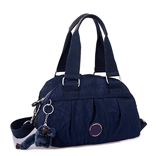 Frauen Jahrgang Leinwand Schulter Aktentasche Messenger Handtasche Side Die Universelle Einsatz Tasche ,B-30cm*14cm*20cm