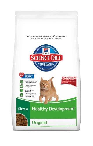 Hill's Science Diet Kitten Healthy Development Original Dry Cat Food, 15.5-Pound Bag, My Pet Supplies