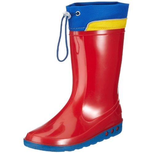 Nora Sven - Zapatos sin cordones, Rojo (Rojo 12), 35 Rojo (Rojo 12)
