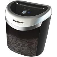 Black & Decker CC2000 20 sheet crosscut paper shredder convenient lightweight counter top design black