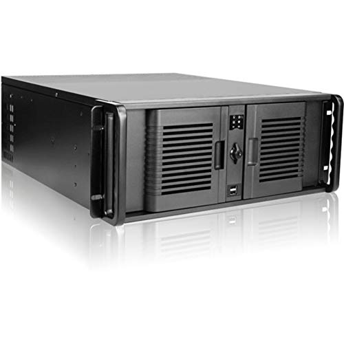 iStarUSA D-400-P 4U Compact Stylish Rackmount Chassis (Motherboard 400 Atx Server)