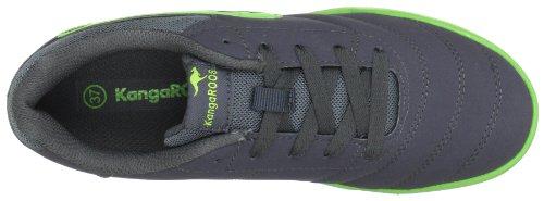 KangaROOS Artus-Combo-Kids 1294A Jungen Sneaker Grau (charcoal/lime 208)