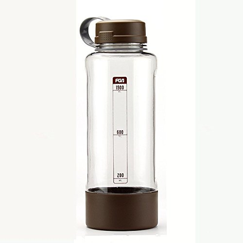 Nature Worship 50 oz Large Capacity Portable Outdoor Tea Cup Water Bottle (Coffee)