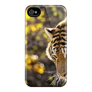 TYH - High Quality Shock Absorbing Case For Iphone 5C-beautiful Tiger phone case
