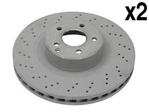Mercedes w215 w220 600 AMG Brake Disc Front GENUINE (x2 rotors) friction rotor
