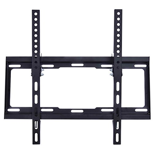 (Safstar Flat Tilt TV Wall Mount Bracket for Most 26