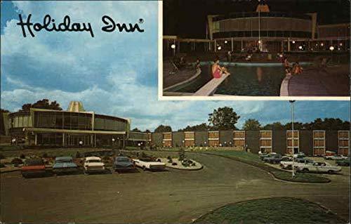 Holiday Inn Waltham, Massachusetts Original Vintage Postcard (Concord Telephone)