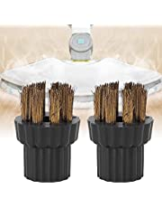 Scrub Brush, 1.6 X 1.2 in Mop Accessories Brass Brush Head Replacement Accessory Fit for Steam Mop X5 Replacement Part, for Home