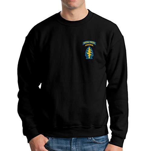GBJA SDGI U.S. Airborne Special Forces Men's Sweatshirts Pullover Crew Neck Sweatshirt ()