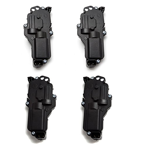 4 PCS Ford F150 Door Lock Actuators Left and Right Side For (Door Lock Actuator Installation)