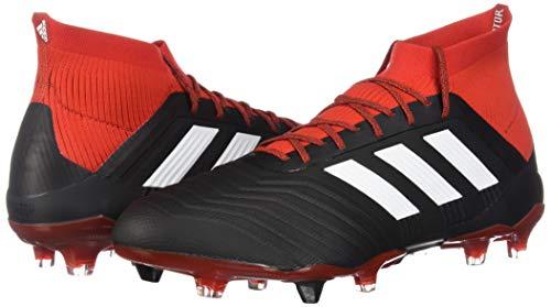 3ee528b17e6 ... clearance 1 cleat mens black fg adidas predator red 18 soccer white  qtpny6v 53a01 abc1a