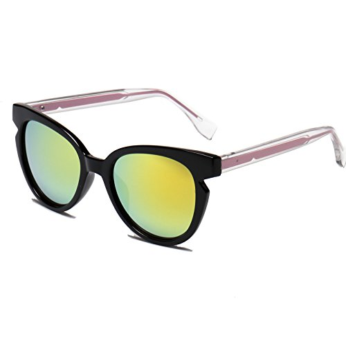 Optition Stylish Fashion Vintage Wayfarer Cat Eye Sunglasses UV - Glasses Gladiator