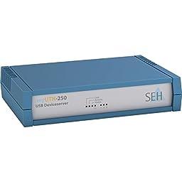 Seh Myutn-250 - Device Server - 10MB LAN, 100MB LAN, GigE, USB 2.0, SuperSpeed USB 3.0 (M05062)