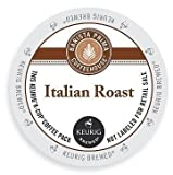 Barista Prima Coffeehouse Dark Roast Extra Bold K-Cup for Keurig Brewers, Italian Roast Coffee (Pack of 144)
