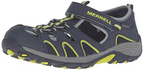Merrell Boys' Hydro H2O Hiker Sandal Sport, Blue, 13 Medium US Little Kid