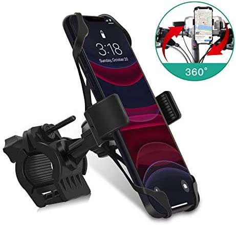 [해외]LATSKGN 바이크 폰 마운트 360° 회전 범용 자전거 오토바이 폰 마운트 홀더 스탠드 크래들 클램프 아이폰 XXRXS MAX876 플러스 삼성 갤럭시 S10S10eS10S9 플러스용 / LATSKGN 바이크 폰 마운트 360° 회전 범용 자전거 오토바이 폰 마운트 홀더 스...