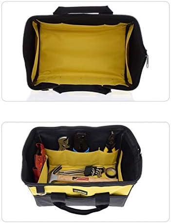 D4 Quincaillerie Kit de r/éparation Sac /à outils /Électricien Travail Multifonction Durable M/écanique Oxford Sac de rangement en tissu Organisateur Sac
