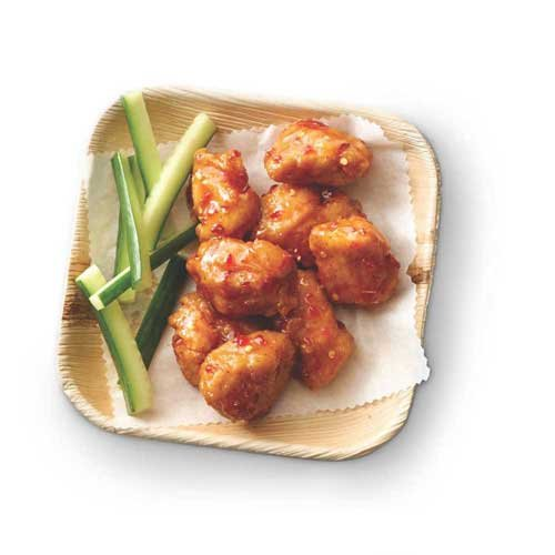Tyson Fully Cooked Breaded Chicken Breast Chunks with Rib Meat, 10 Pound - 1 each.