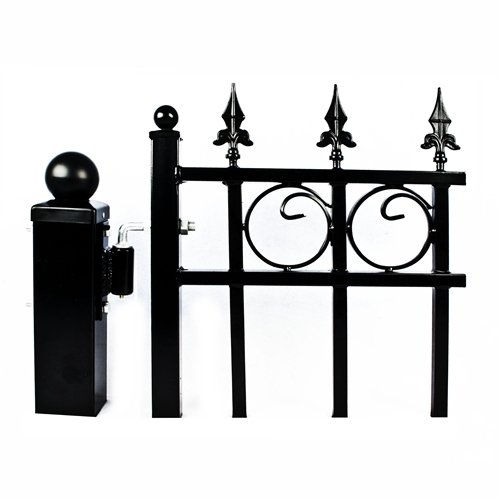 Aleko 5 8 Quot Hinge J Bolt For Aleko Driveway Gates Iron Gate