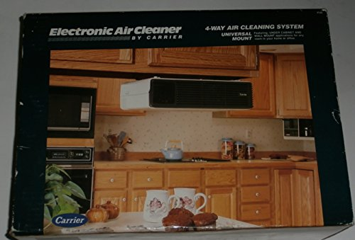 Electronic 4-Way Air Cleaning System Air Cleaner by Carrier