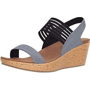 Skechers Cali Women's Beverlee Smitten Kitten Wedge Sandal