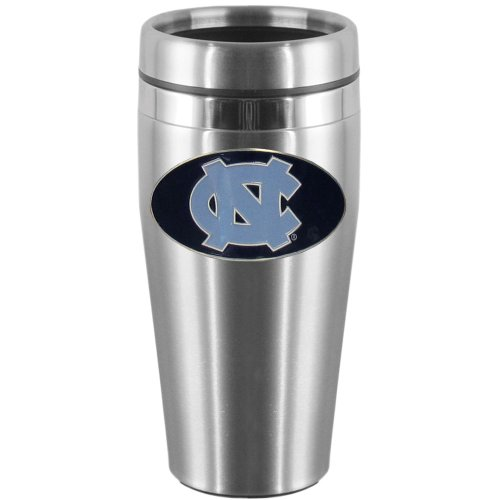 NCAA North Carolina Tar Heels Steel Travel Mug