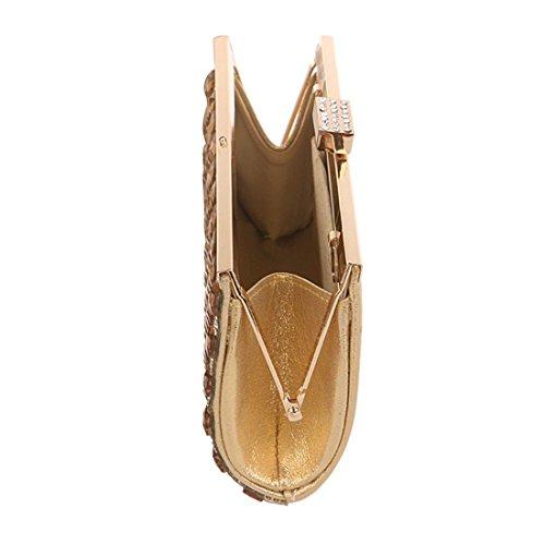 Color Diamond Purse Silver Bag KERVINFENDRIYUN Handbag Women's Gold Evening Crossbody Clutch CSW850