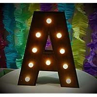 letras con luz, luz led, color a tu gusto