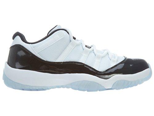Nike Air Jordan 11 Retro Low, Scarpe da Basket Uomo Bianco / Nero (White / Black-dark Concord)