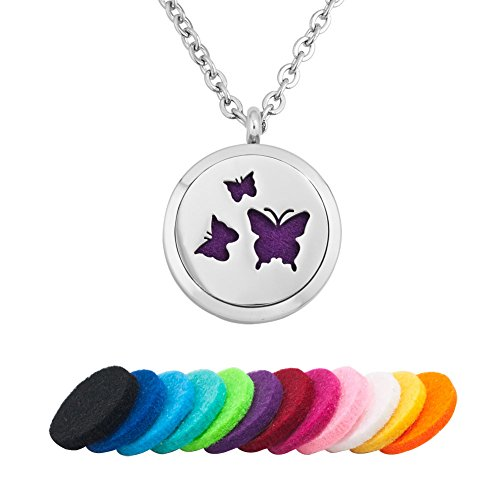 Childrens Butterfly Necklace - 9