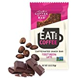 Eat Your Coffee - Gluten-Free Caffeinated Snack Bar (Fudgy Mocha Latte, 15 pack of 1.6 oz bars) Natural On-The-Go Bar made with Organic Dates for Increased Muscle and Mental Performance