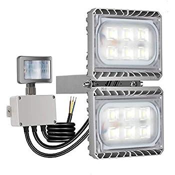 Amazon Com Motion Sensor Light Stasun 5400lm 60w Led