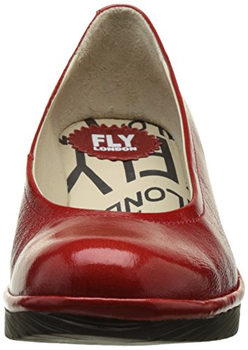Rojo Zapatos Fly de London as Cu Mujer P500424074 Red 078 wRRF1x