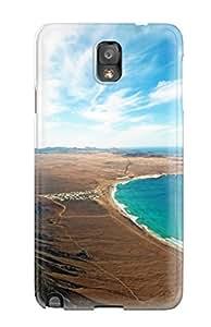 Best High Grade Flexible Tpu Case For Galaxy Note 3 - Lanzarote Island