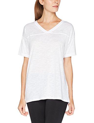 Heather Pour Boyfriend Puma T White Tee Femme shirt 0aEHvCq