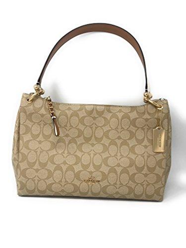 COACH Mia Shoulder Bag in Signature ()