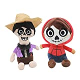 YODE Miguel Rivera and Hector Rivera Coco Plush Stuffed Soft Dolls Toys for Children - 2Pcs/Set