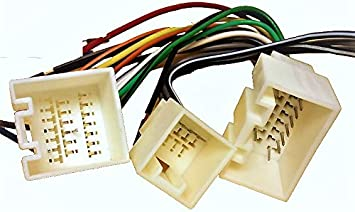 Amazon.com: Stereo with Amp Wire Harness Lincoln Navigator 03 04 ... 2004 lincoln ls radio wiring diagram Amazon.com