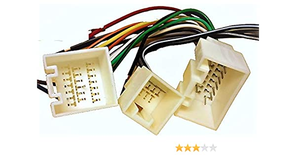 stereo with amp wire harness lincoln navigator 03 04 05 (car radio wiring ins 2004 Ford F-150 Radio Wiring